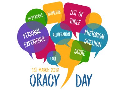 Oracy Day poster