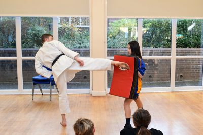 Karate workshop for charity - November 2017