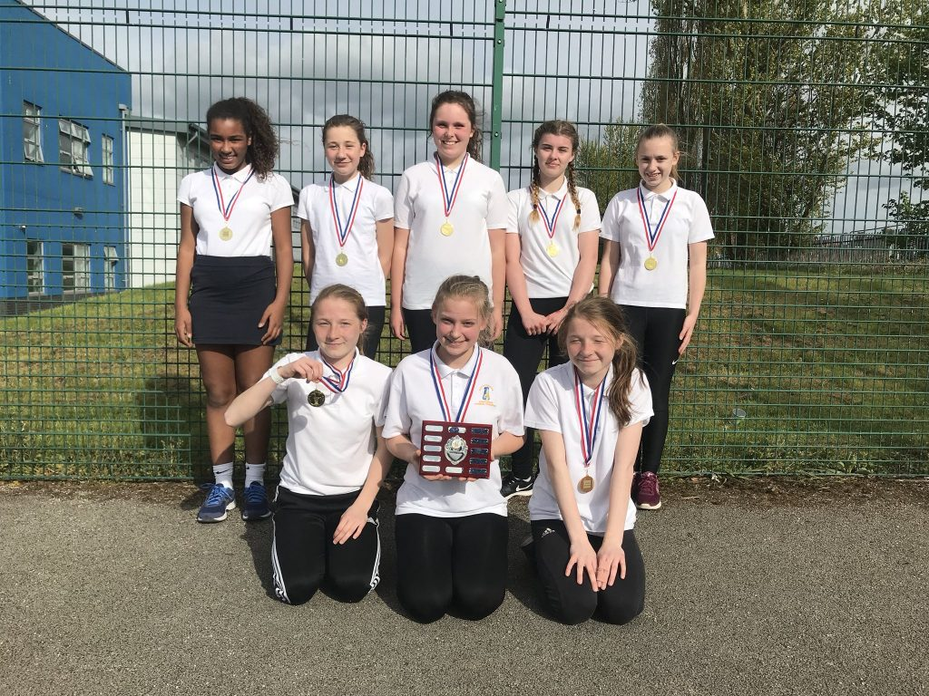 Year 8 Netball Team - Wakefield league champions