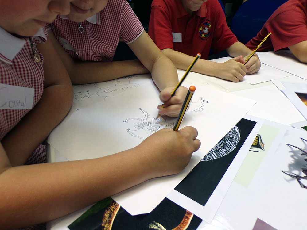 Arts Week at Sandal Castle primary