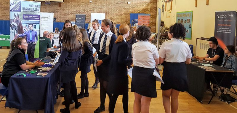 Year 7 and 8 pupils take part in the Careers & Aspirations Day