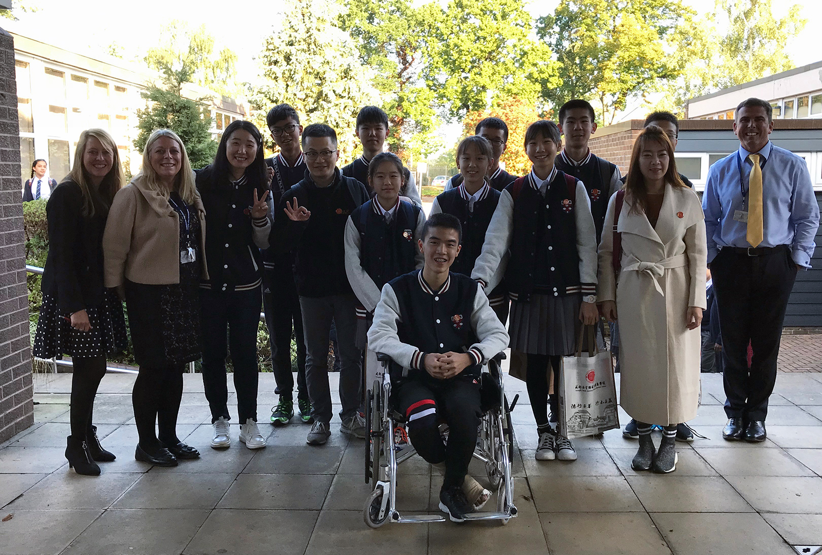 Chinese visit to Kettlethorpe 2019