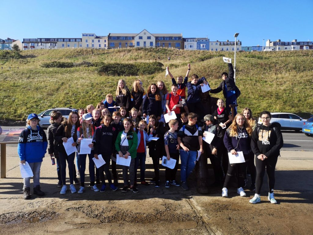 Year 8 Geography and History trip to Scarborough 2019