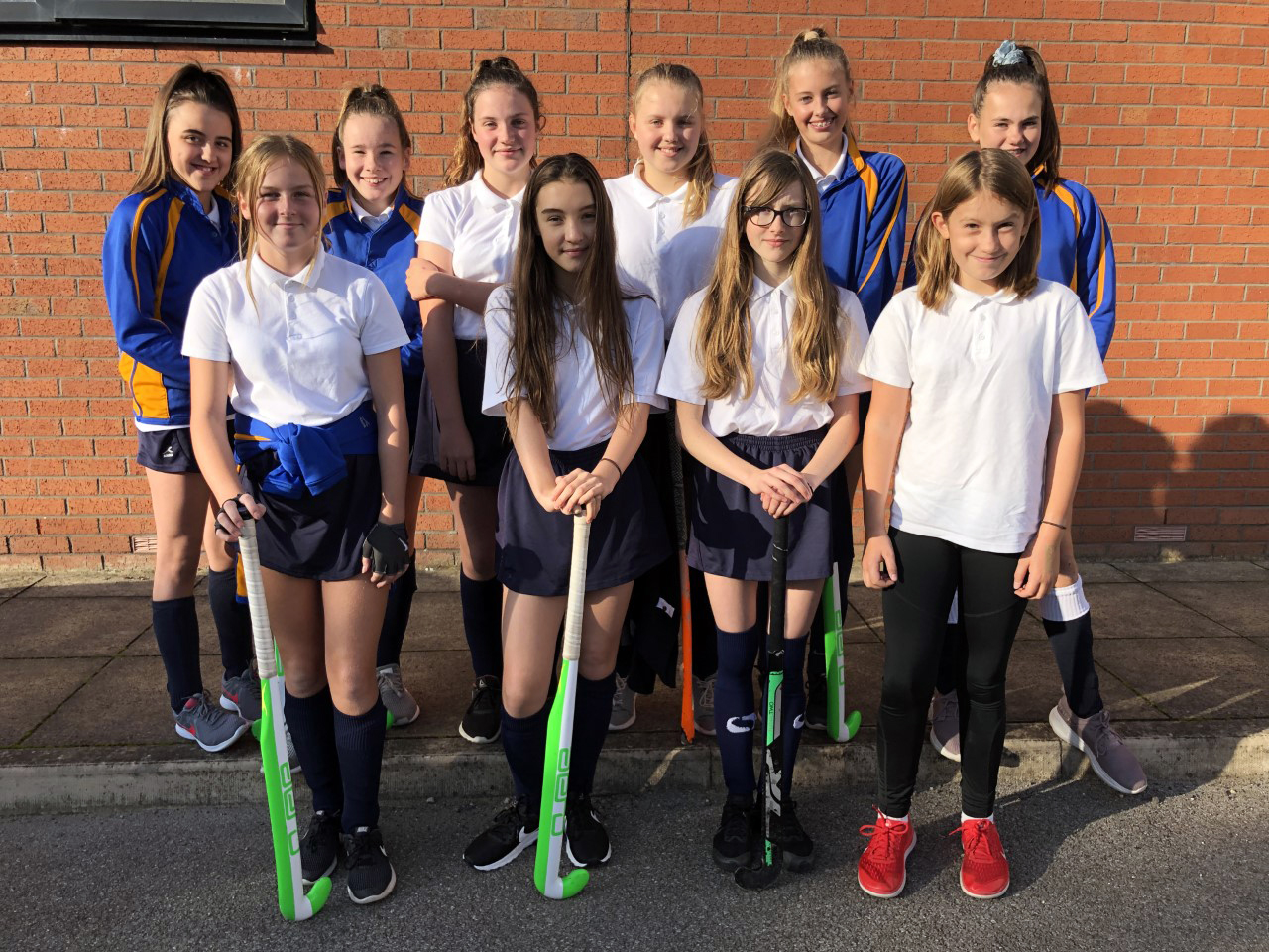 Y8 hockey team
