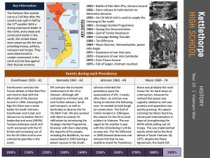 example of Knowledge Organiser - history