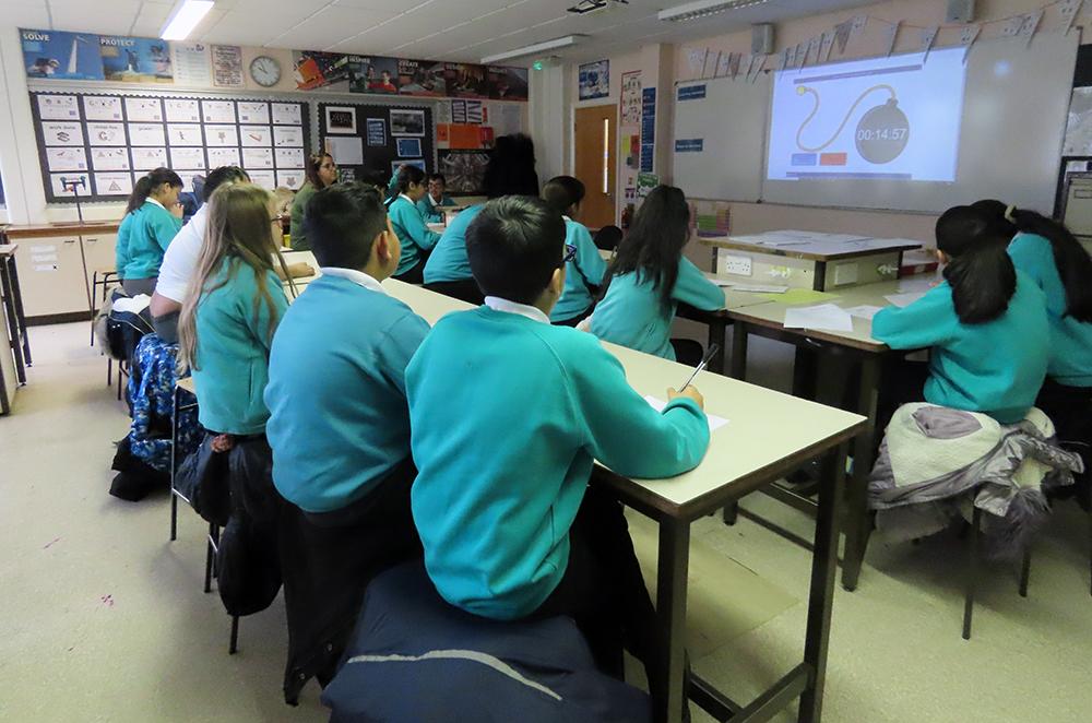 Sandal Magna pupils attend a Science workshop 2019