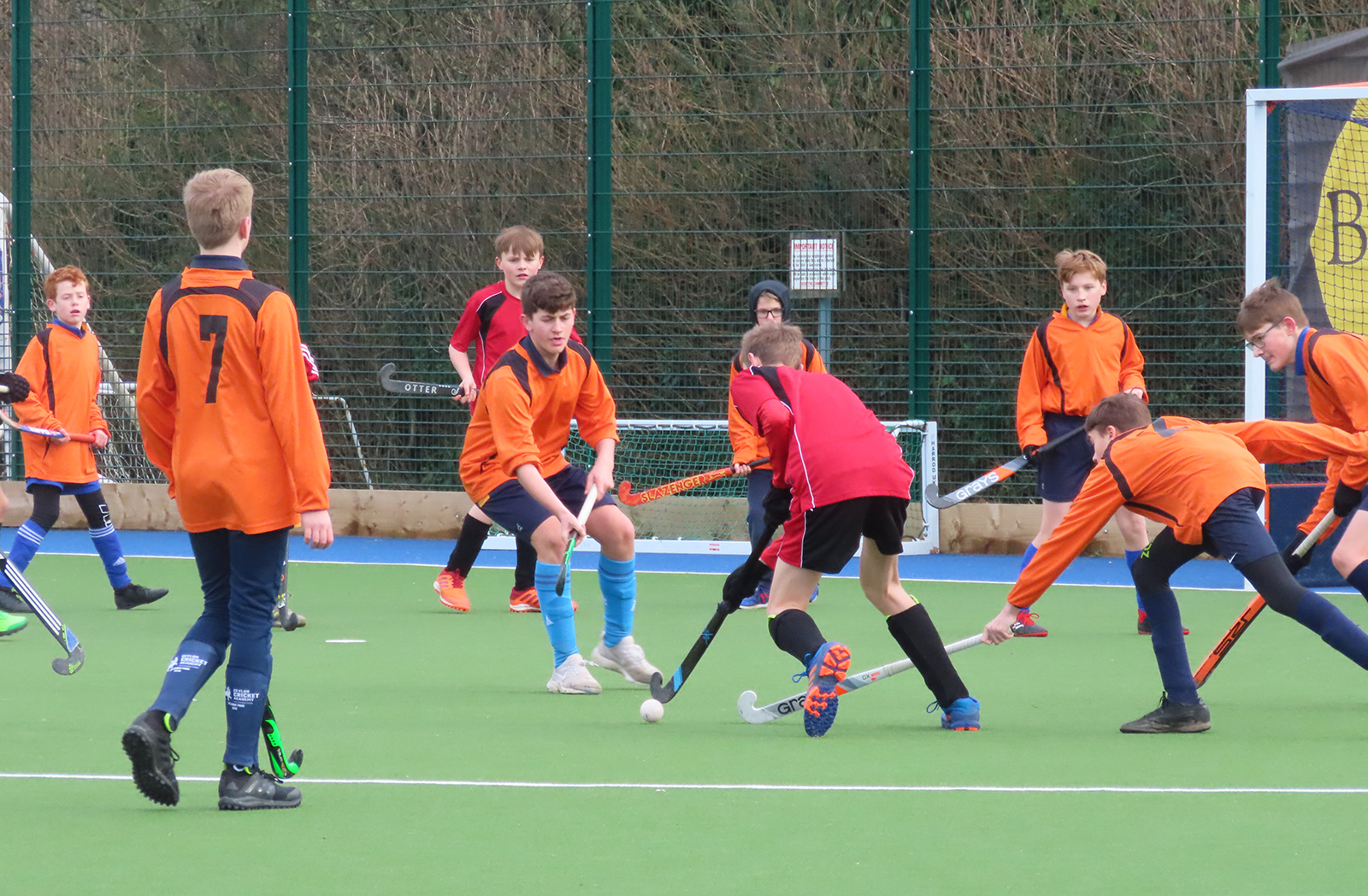 Year 9 hockey tournament - February 2020