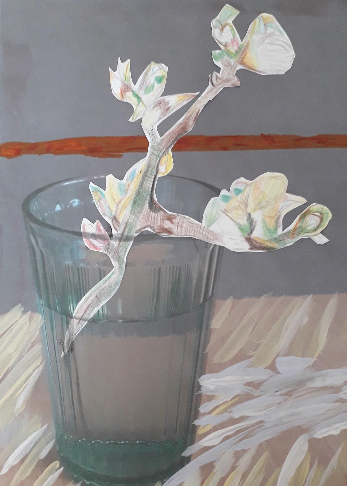 Y7 Art project on Van Gogh