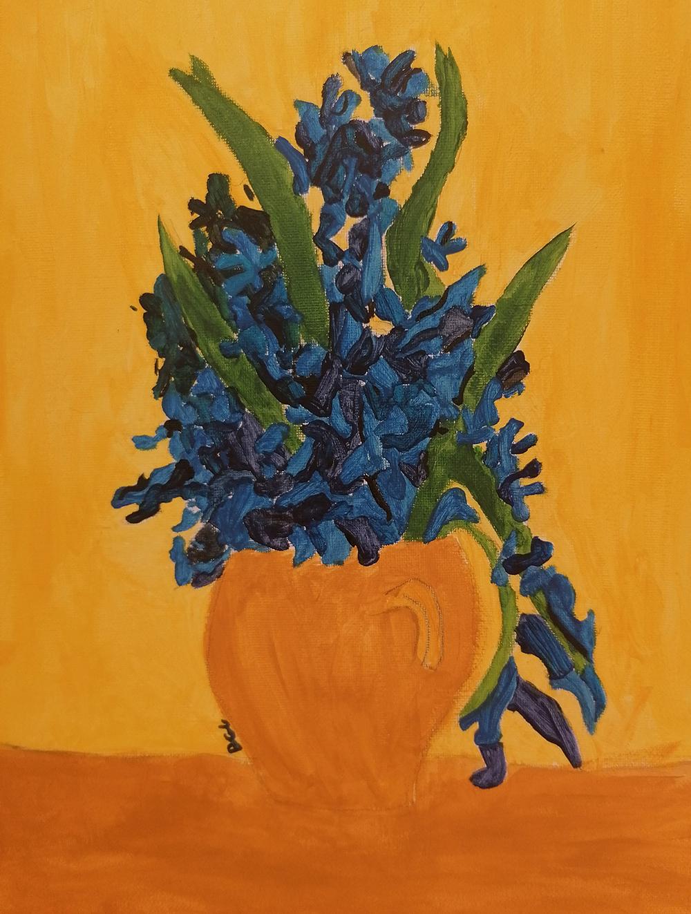 Y7 Van Gogh artwork May 2020