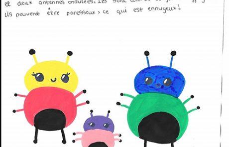 Y7 language homework - describe a monster