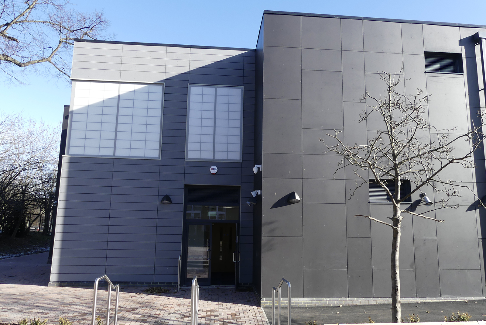 Our newly built block - February 2021