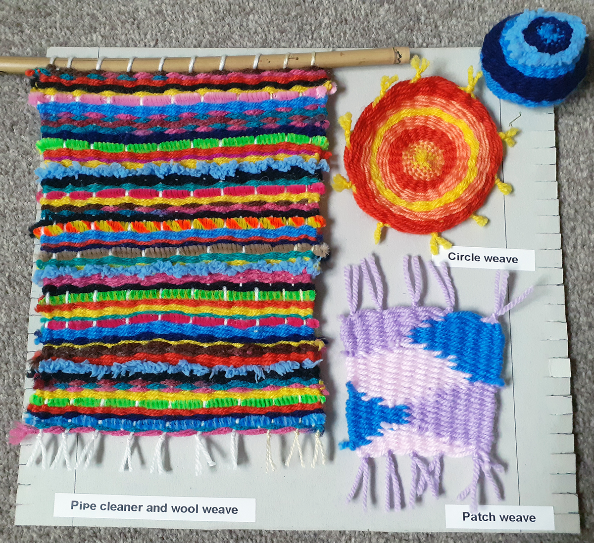Year 9 weaving project