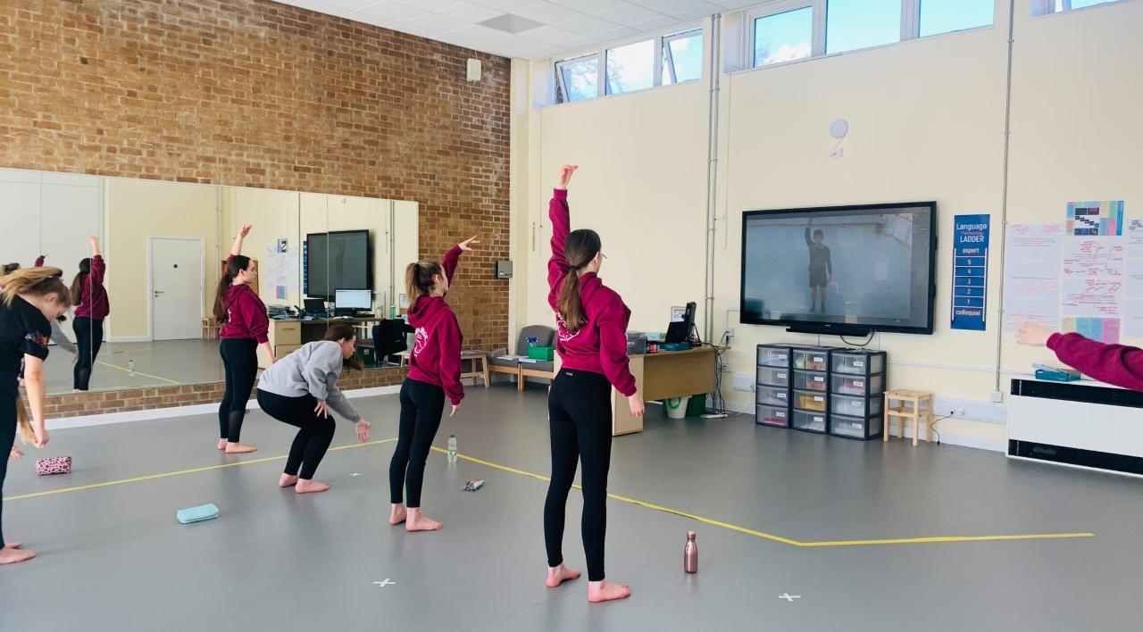 Year 9 GCSE Dance workshop
