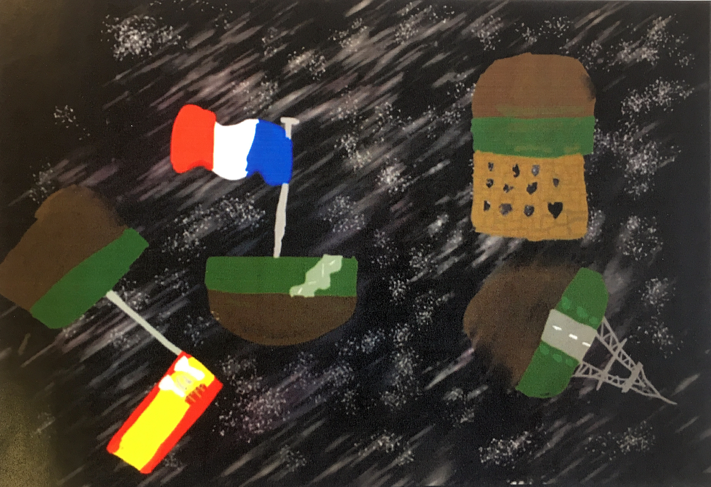 Art competition entry for the MFL block
