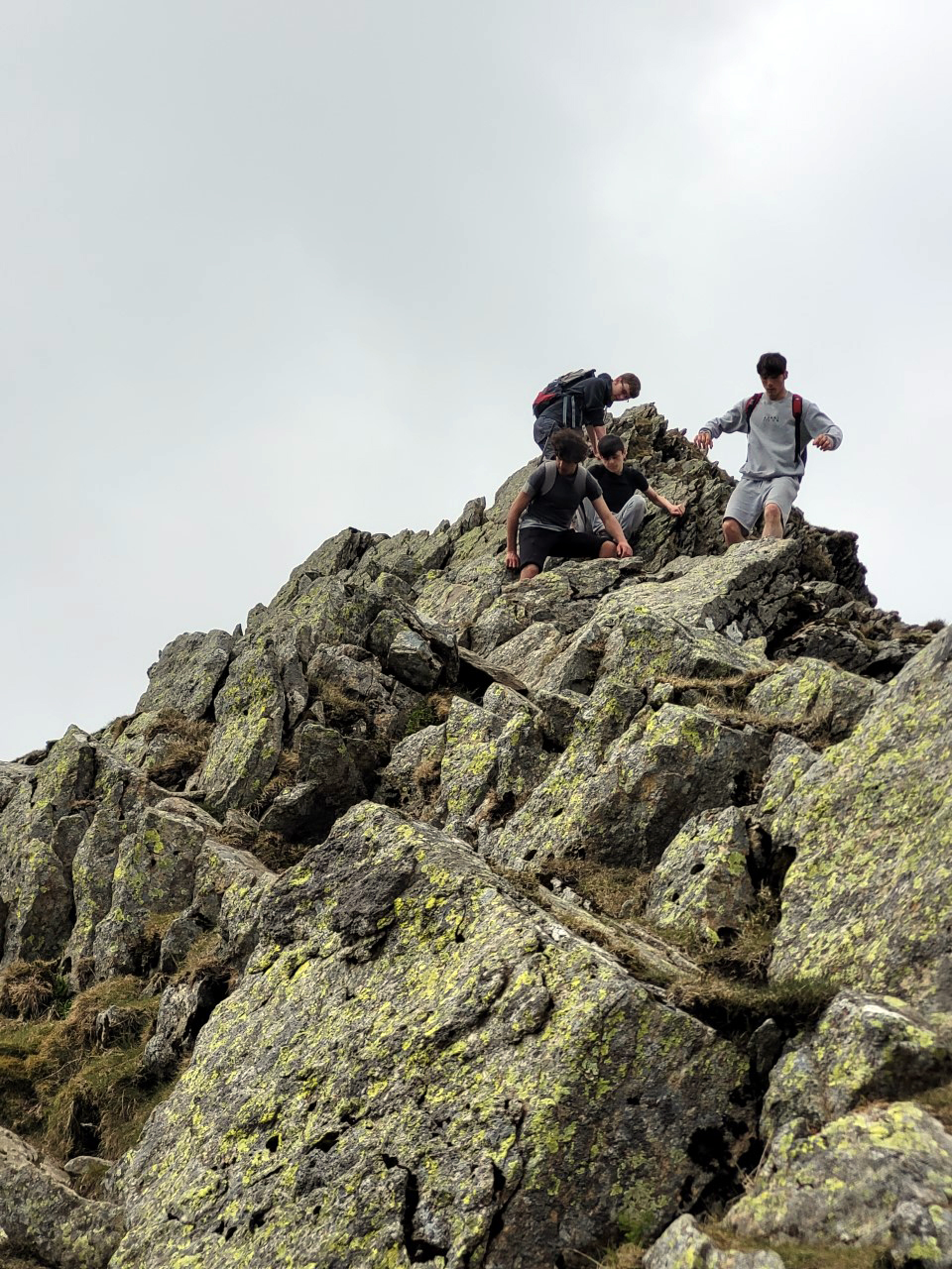 Y11 Outdoor Pursuits group goes rambling in the Lake District