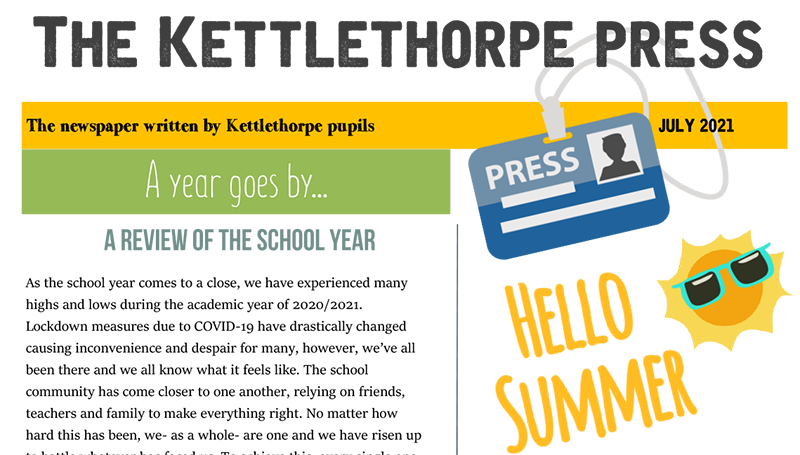The Kettlethorpe Press - July 2021 edition